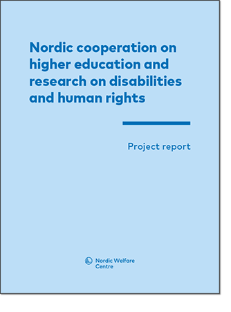 Picture of Nordic cooperation on higher education and research on disabilities and human rights