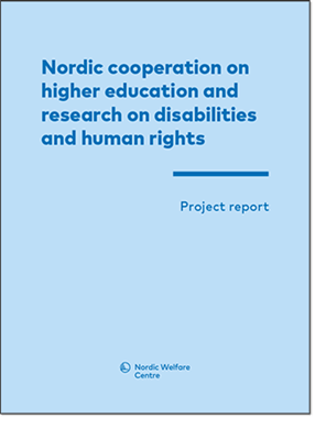 Bild på Nordic cooperation on higher education and research on disabilities and human rights