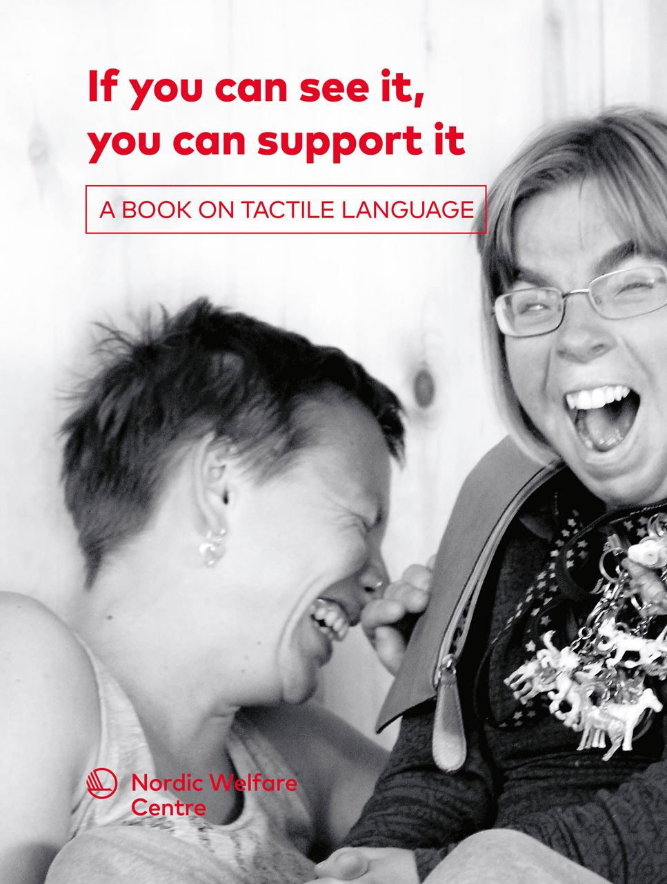 Bild på If you can see it, you can support it – A book on tactile language